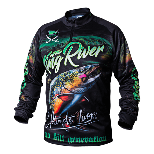 Fishing clothes T-Shirt Crazy Trout L